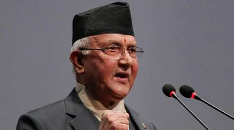 nepal. k p oli, k p oli resign, no confidence vote, oli no confidence vote, nepal new pm, prachanda, new prime minister nepal, nepal new prime minister, Khadga Prasad Oli, newpal new delhi, new delhi nepal, nepal delhi relationship, relationship of delhi nepal, maoist, nepal maoist leadership, guerrilla, guerrilla leader dahal, prachanda pm, india china, india china nepal, india nepal china, oli modi, kp oli narendra modi, nepal Madhesis, nepal crisis, indian express editorial