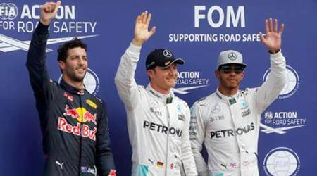 Nico Rosberg on pole for home German Grand Prix
