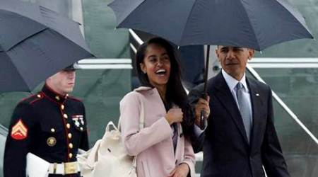 obama, malia obama, barack obama, malia obama model, malia obama modelling contract, malia obama reject modelling contract, fashion news, latest news, lifestyle news, latest news