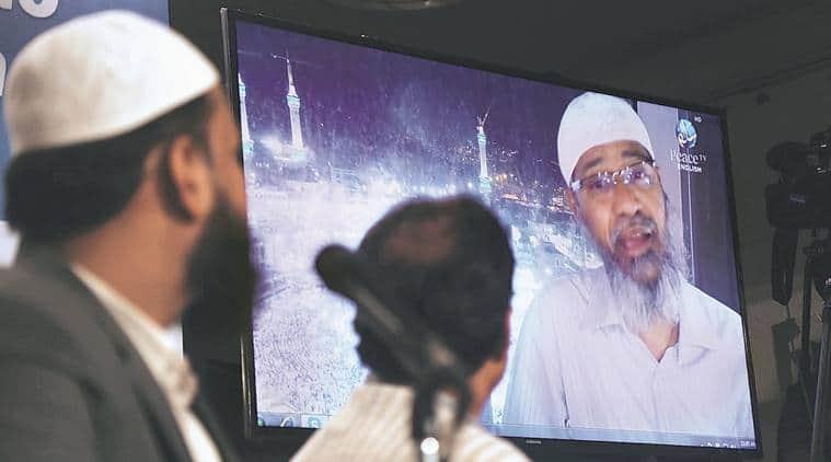 Zakir Naik, Zakir Naik televangelist, zakir naik preacher, zakir naik speeches, zakir naik hate speech, peace tv, india news