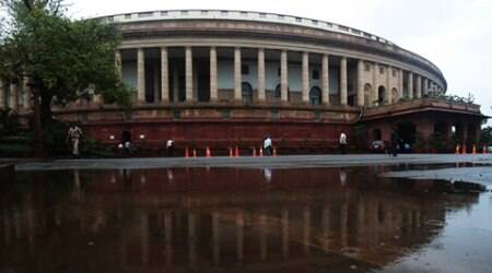 GST Bill: Congress (Lok Sabha) sulks as Cong (Rajya Sabha) directs today's script