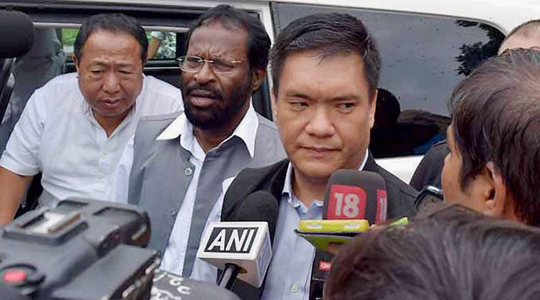 Pema Khandu, Arunachal CM,Khandu on demonetisation, Khandu alerts Arunachal banks, Banks officials of Arunachal, Itanagar, tribal people of Arunachal, demonetisation, Arunachal Pradesh IT department, indian express news