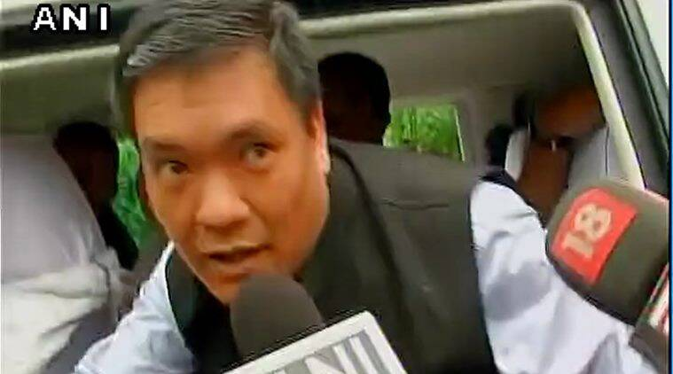 arunachal pradesh, pema khandu, cm pema khandu, chief minister pema khandu, khandu itanagar, itanagar, itanagar pema khandu, arunachal pradesh verdict, arunachal pradesh congress, congress, khandu leadership, nabam tuki, delhi congress, Peoples Party of Arunachal, rahul gandhi, rahul gandhi in itanagr, indian express news, india news
