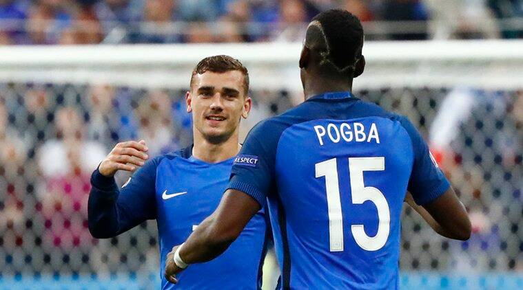 7bbb479d6 Euro 2016  Antoine Griezmann and Paul Pogba step into big boots of ...