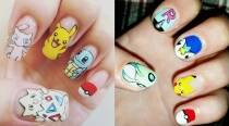 Because it's fun: How about some Pokemon Go nail art?