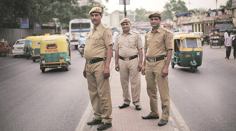 Delhi police is officially allotted only one summer uniform per year and just Rs 195 (Express photo by Oinam Anand)