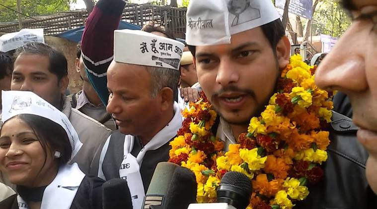 Prakash Jarwal, Prakash Jarwal molestation charges, AAP, AAP MLA molestation case, Aam Aadmi Party, indian express news