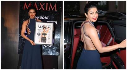 Priyanka Chopra unveils the controversial mag cover, talks about Quantico, Baywatch and Deepika