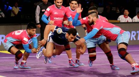 Pro Kabaddi: Jaipur Pink Panthers shoot to top of the table