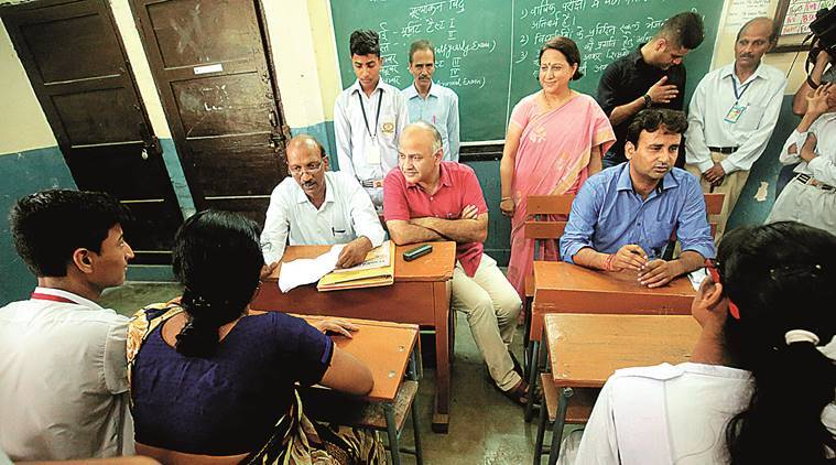 board exams, delhi school, delhi govt schools, govt schools, delhi government schools, education news, delhi education, class 10, class 12, 12th board exams, indian express, 10th board exams