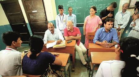 Workshops for class 10, 12 government school students' parents in Delhi