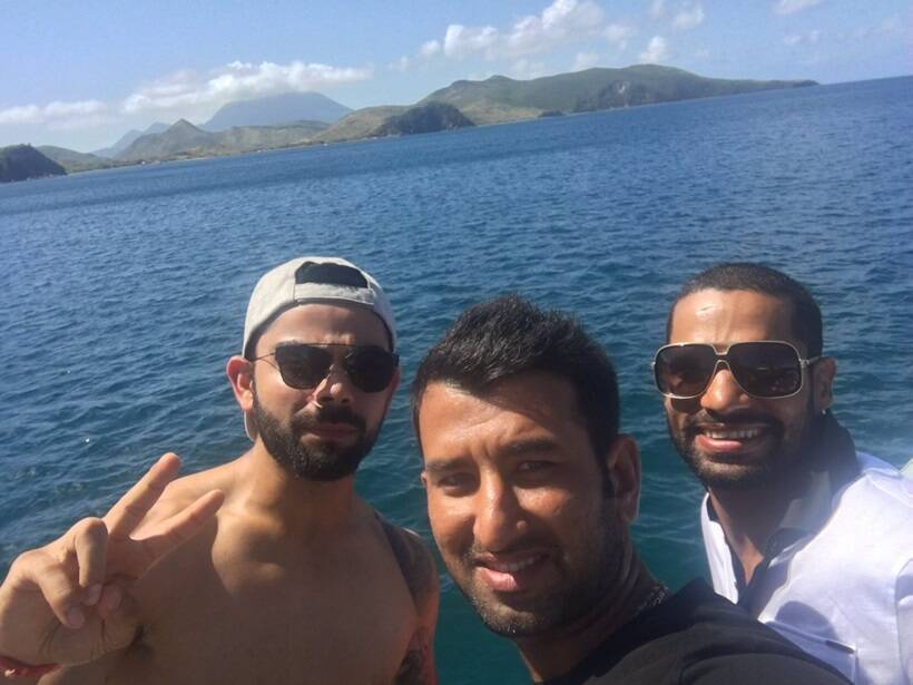 Image result for India vs West Indies: For Virat Kohli & Co, life's a beach