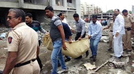 Pune building collapses, at least nine dead