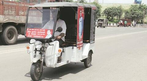 pune, pune new, pune e rickshaws, e rickshaws in pune, pune civic polls, bjp, indian express news