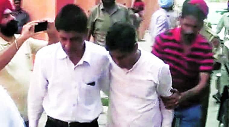 Naresh Yadav, AAP,Quran desecration case,Quran desecration,Naresh Yadav custody,Bhagwant Mann,Vijay Kumar, news, India news, latest news,Parkash Singh Badal