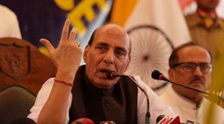 No role for third power, we want to have emotional bond with Kashmir: Rajnath Singh