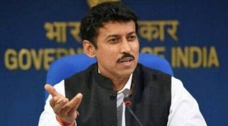Demonetisation, Union Minister Rajyavardhan Singh Rathore, demonetisation benefits, Rajyavardhan meets bankers, india news, indian express news