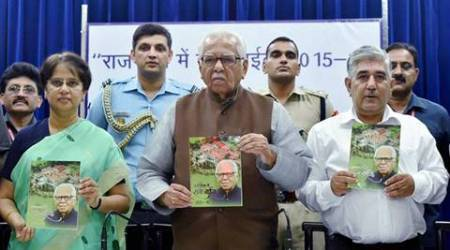 UP governor Ram Naik completes two years in office