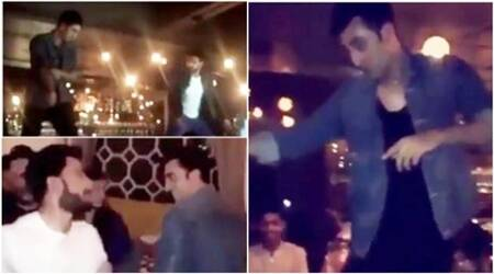 Ranveer, Ranbir dance on table together