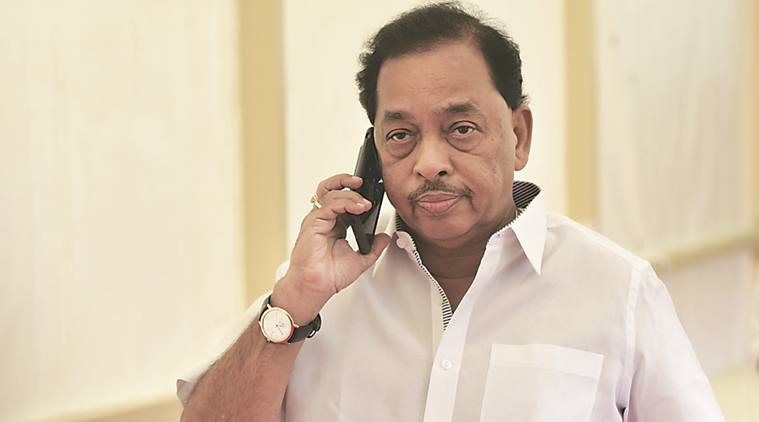 Shiv sena panicked over narayan rane's nomination