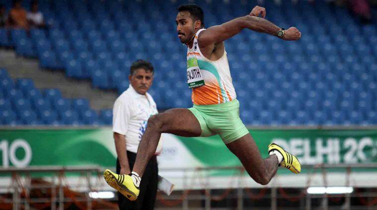 Renjith Maheswary, Rio Olympics, Athletics Federation of India, Indian Grand Prix events, Jinson Johnson, Indian athletes, triple-jumper Maheswary, Sree Kanteerava Stadium in Bangalore, indian express news, sports news