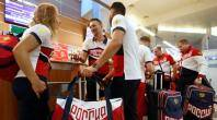 Russia's depleted Rio team heads for Brazil