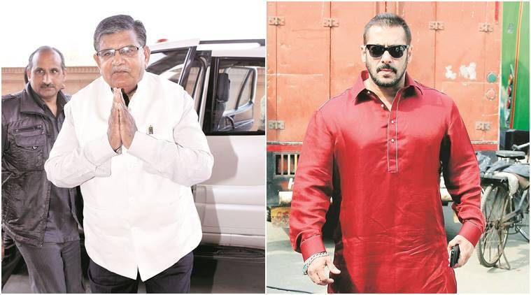 chinkara poaching case, SALMAN khan, Salman khan chinkara poaching case, rajasthan chinkara poaching case, Rajasthan, Rajasthan home minister, Gulab Chand Kataria, Rajasthan home minister Gulab Chand Kataria, Harish Dulani, salman khan chinkara poaching case, chinkara poaching case salman khan, india news