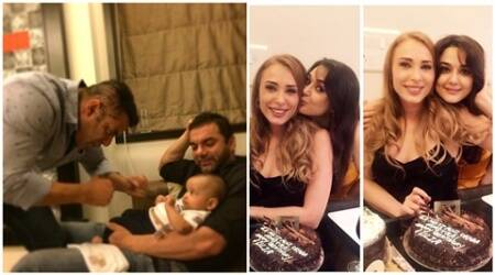 Salman Khan celebrates Iulia Vantur's birthday with family, see pics