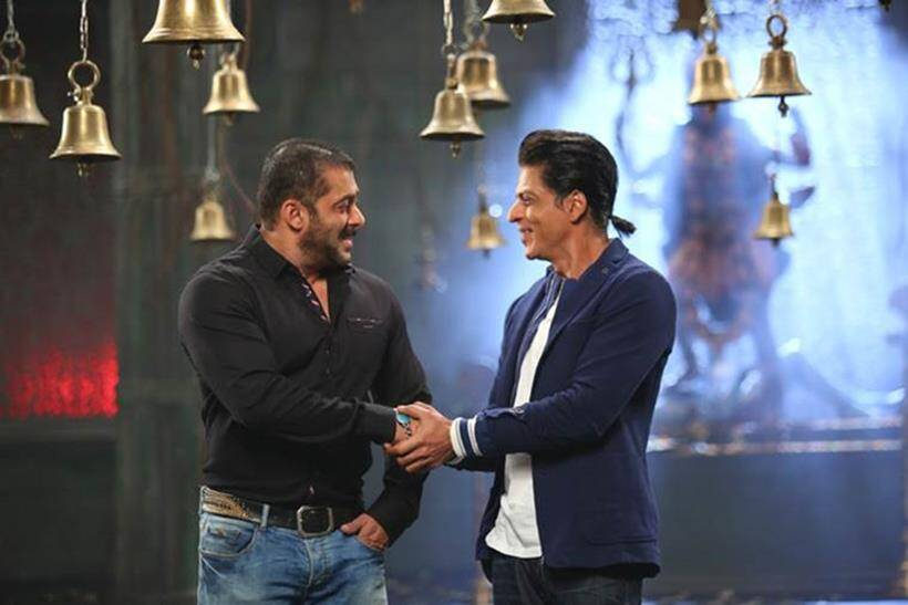 Image result for Shah Rukh Khan and Salman Khan
