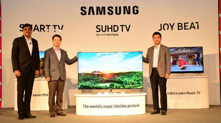 Samsung, Samsung, Home Entertainment, Samsung Joy Beat, Samsung Smart TV, Samsung Televisions, Samsung TVs, Smart TV, SUHD TV, samsung new TV price, Samsung Joy Beat range price, Samsung Smart TV price, gadgets, technology, technology news