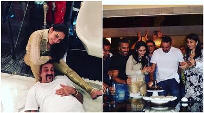 Sanjay Dutt turns 57, wife Maanyata throws a grand birthday party, see pics