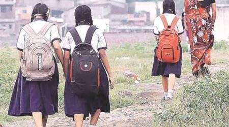 mumbai, mumbai schools, bandra school, school bandra, municipal school bandra, bmc, condition of municipal schools, indian express news, mumbai news