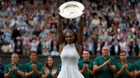 Serena Williams, Serena Williams US, Serena Williams tennis, Serena Williams factbox, Serena Williams Wimbledon, Serena Williams grand slams, Serena Williams win wimbledon, Serena Williams vs Angelique Kerber, Serena Williams career, Serena Williams titles, Serena Williams Venus Williams, Venus Williams, Angelique Kerber, Wimbledon, tennis, sports news, sports