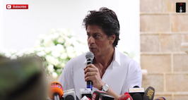 Shah Rukh Khan Celebrates Eid, Refuses To Talk About TerrorAttack