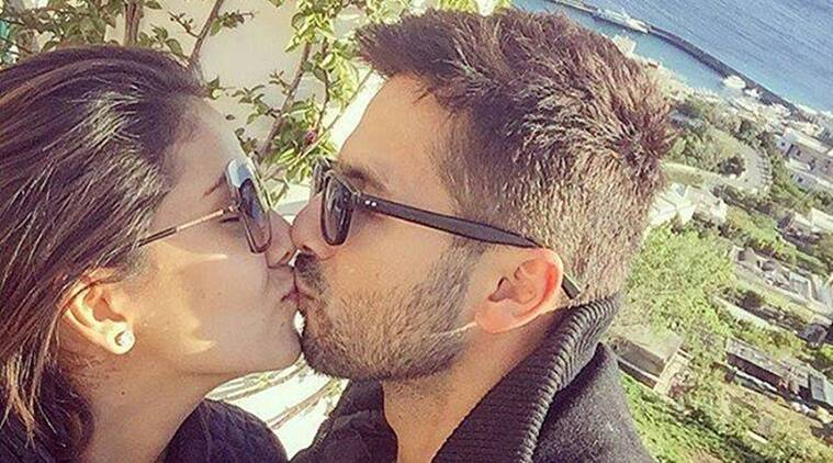 Shahid Kapoor, Mira Rajput, Shahid Kapoor Mira Kiss, Shahid Mira Kiss, Shahid Kapoor Mira Kapoor, Shahid Kapoor Rajput Kiss, Shahid Mira Lip lock, Shahid Mira kissing, Shahid Kapoor Mira Rajput Wedding Anniversary, Shahid Mira Anniversary pic, Entertainment