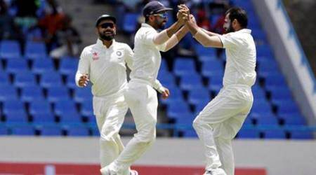 india vs west indies, ind vs wi, india west indies, r ashwin, ashwin, mohammed shami, shami, harsha bhogle, cricket news, cricket