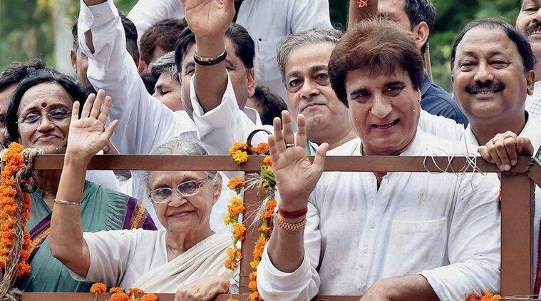 Sheila Dikshit chosen Congress' CM candidate for Uttar Pradesh elections