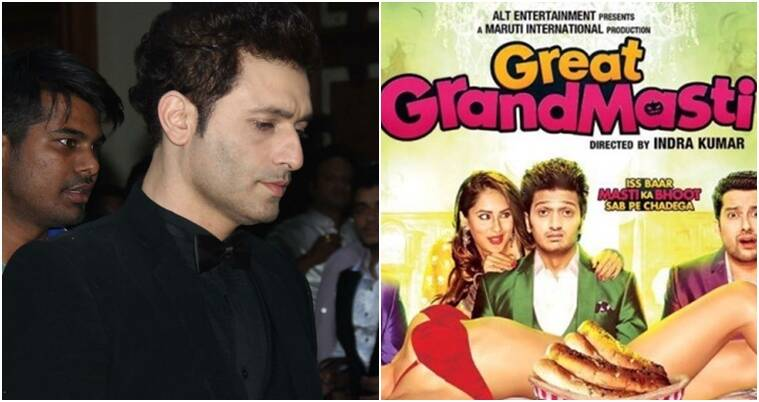 Shiney Ahuja filed a case against the film for naming a character after him in Great Grand Masti.