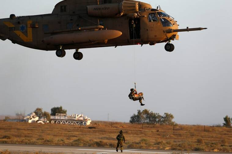 Reasons for the crash are yet to be known. Representational image of a Sikorsky CH-53 helicopter. Reuters