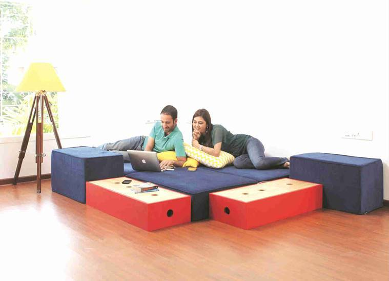 Pune Rented Furniture Peps Up Living Spaces Of New Age City Residents The Indian Express