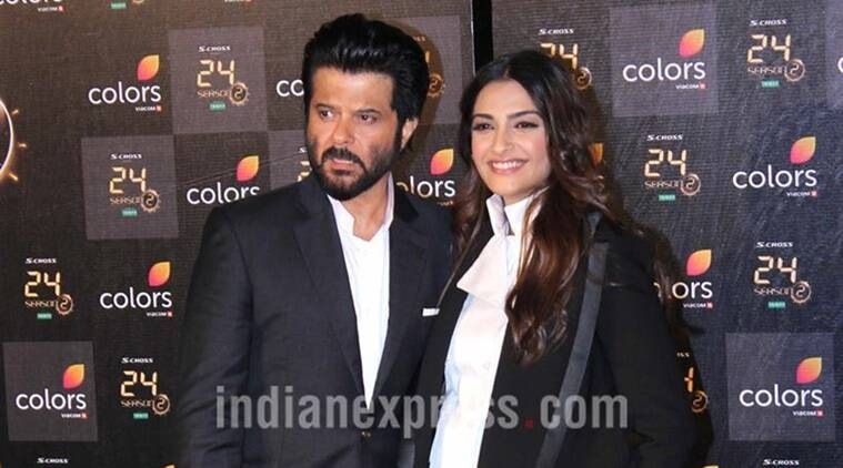 Anil Kapoor, Anil Kapoor birthday, Anil Kapoor turns 60, anil kapoor age, anil kapoor news, Anil Kapoor films, Anil Kapoor movies, sonam kapoor, anil sonam, sonam anil, anil kapoor sonam kapoor, anil kapoor throwback pic, entertainment news, indian express, indian express news