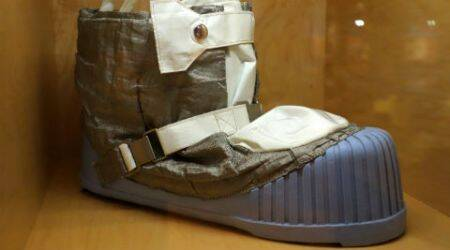 space boots, haptic motor, space technology, astronauts, space suits, MIT, space missions