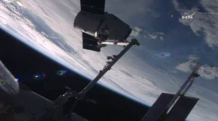 SpaceX cargo ship arrives at International space station