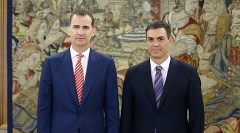 Spanish King, Mariano Rajoy, Spanish Government Political Paralysis, Governement political Paralysis in Spain, King Felipe VI, no majority in Spanish parliament, no absolute parliamentary majority in Spain, Rajoy's Popular Party, Spain news, latest news, world news, International news