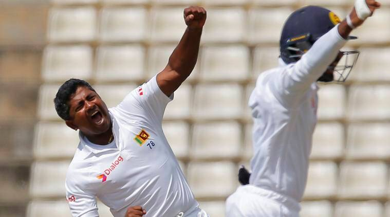 Sri Lanka win the first Test of the 3-Test match series against Australia in Kandy. (Source: AP)