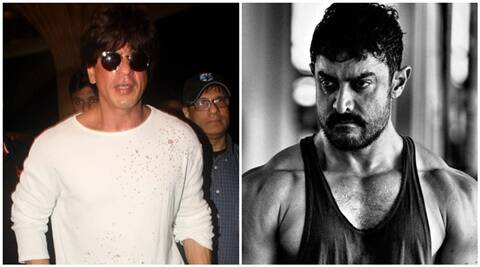 Shah Rukh Khan, Aamir Khan, Dangal, Aamir Khan Dangal, Shah Rukh Khan aamir Khan, Aamir Dangal, SRK, SRK Aamir, Aamir, AAmir SRK, Aamir dangal movie, Aamir Abs, Aamir Body, Entertainment