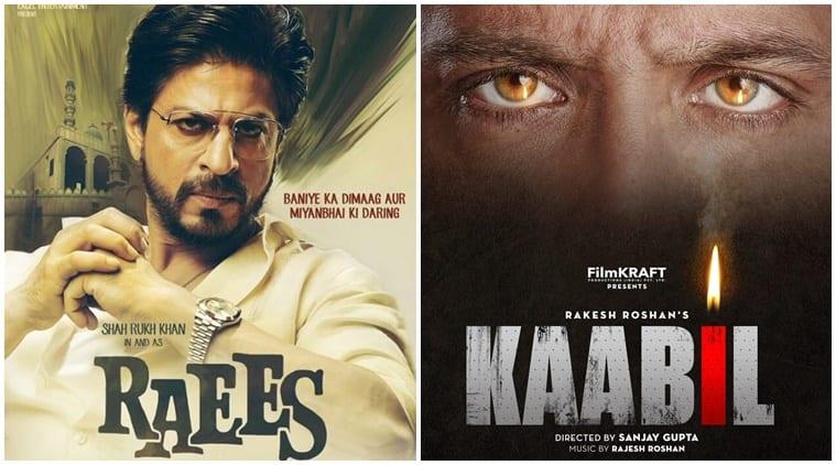Shah Rukh Khan, Raees, Hrithik Roshan, Kaabil, SRK, SRk Raees, SRK Raees movie, HRithik, Hrithik Kaabil, Raees Kaabil clash, Raees vs Kaabil, Raees Kaabil Box office clash, Entertainment