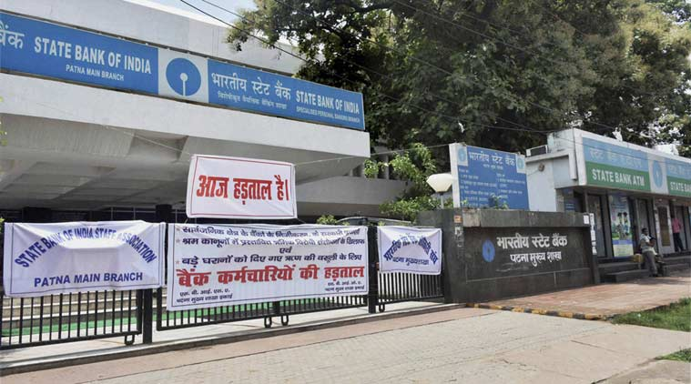 bank strike, public sector banks, state bank of india, psb bank strike, psb employee strike, sbi psb mergers, banking news, india news, latest news