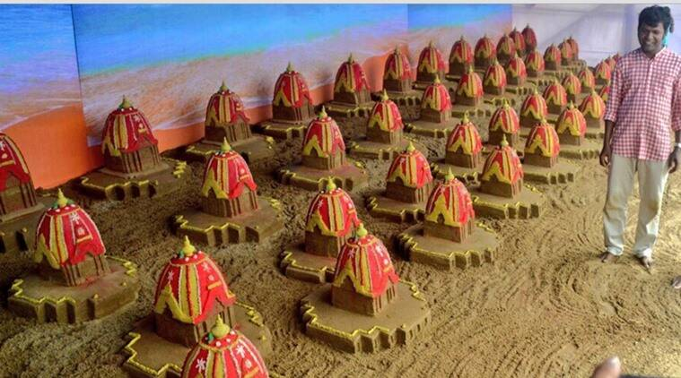Sudarsan Pattnaik, sand-art, sand-artists, rath-yatra, Jagannath Puri, Limca Book of Records, world records of Sudarsan Pattnaik, world records