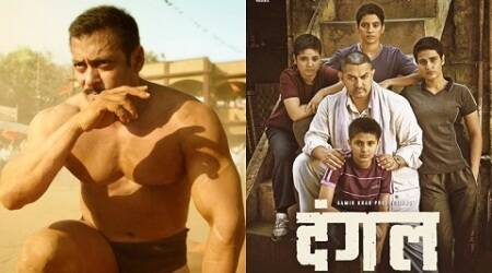 Aamir Khan, Salman Khan, Aamir Khan Salman Khan, superstar, Sultan, Dangal, Dangal poster, wrestling, entertainment news